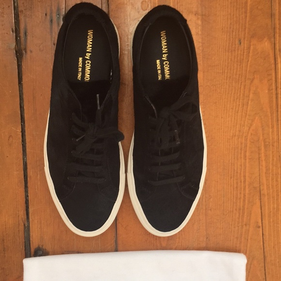 711e4ec03a371 Common Projects Shoes - Common Projects Calf Hair Achilles Low size 38